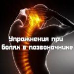 Упражнения при болях в позвоночнике (2013) DVDRip